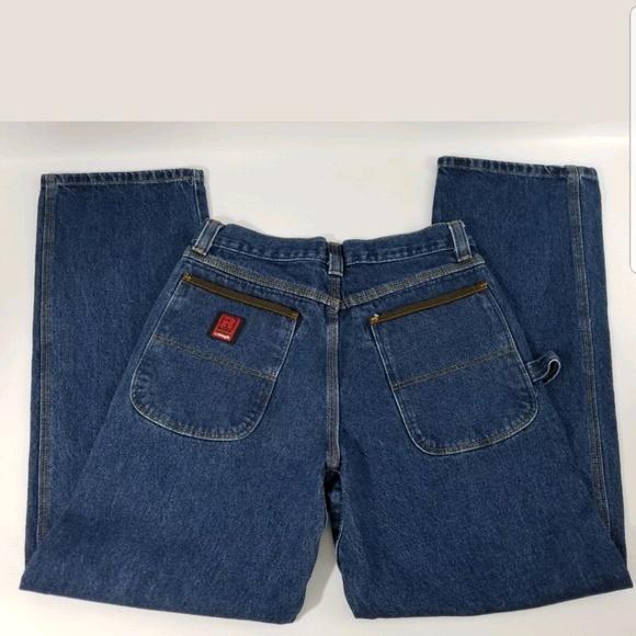 wrangler jeans mens riggs carpenter utility 31x32 poshmark
